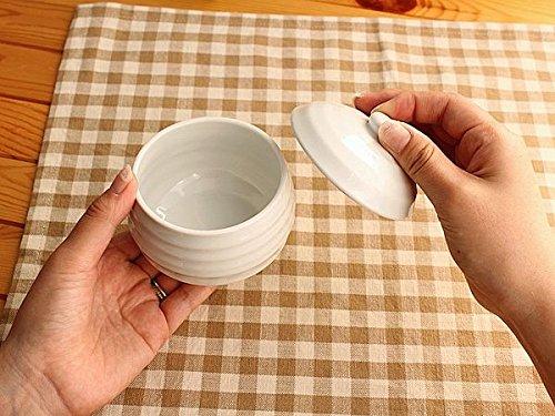 Flower&May『どんぐり蓋つき白いカップ』