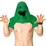 Mens Ask Me About My Trex T Shirt Funny Cool Dinosaur Flip Graphic Novelty Tees (Green) - M