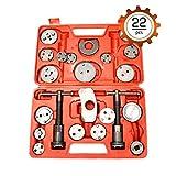 Fekuar Universal Brake Caliper Wind Back Tool 22pc Disc Professional Disc Brake Caliper Piston Tool Set