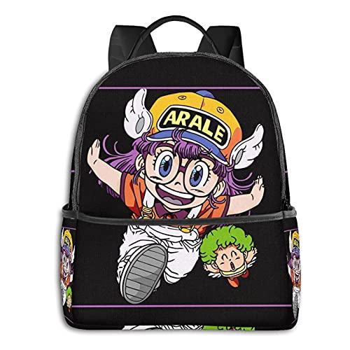 Arale - Mochila para adultos y niños, duradera, para viajes, escuela, portátil, escuela, trabajo, para hombres y mujeres