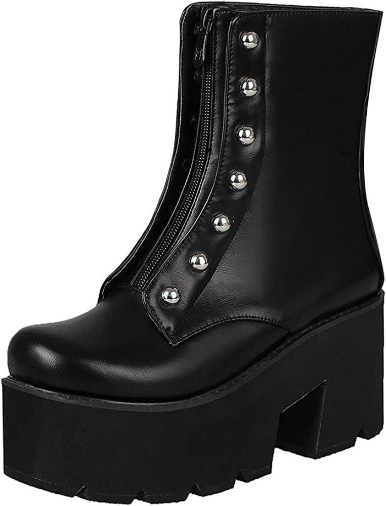 Charlotte Mall Quantity limited Vimisaoi Ankle Boots for Women Comfortable High Heel Round Toe