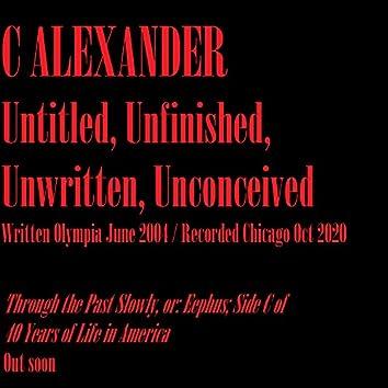 Untitled, Unfinished, Unwritten, Unconceived (Radio Edit) (Radio Edit)