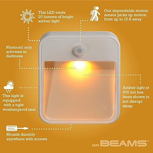 Product Image 3: Mr. Beams Sleep Friendly Battery-Powered Motion-Sensing LED Stick-Anywhere Nightlight