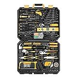 YBYRLHH 168 unids Socket Wrench Auto Reparación Kit de Herramientas Manual Kit de Reparación Multifuncional Kit de Hardware