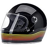 Biltwell Gringo S Helmet - Spectrum (Small/DOT/ECE) (Gloss Black)