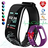 Best Monitors With Calorie Counters - Fitness Tracker, Color Screen Activity Tracker Watch Review