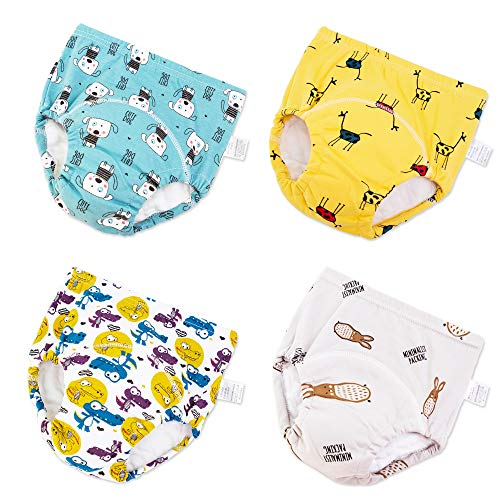 The B-Style TB Baby Cotton Training Pants Toddler Potty Training Underwear for Boys Girls Pack of 2