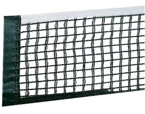 JOOLA Tischtennisnetz TT-Netzgarnitur Ersatznetz WM/Europaliga/Spring Reinforced Cotton Blend Net, Schwarz, Einheitsgröße