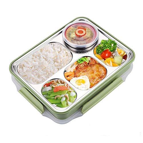 SKYEI Contenedores de comida y almacenamiento de alimentos, a prueba de fugas, cajas Bento para adultos y niños, contenedor de control de porciones gratuito, caja de almuerzo para adultos