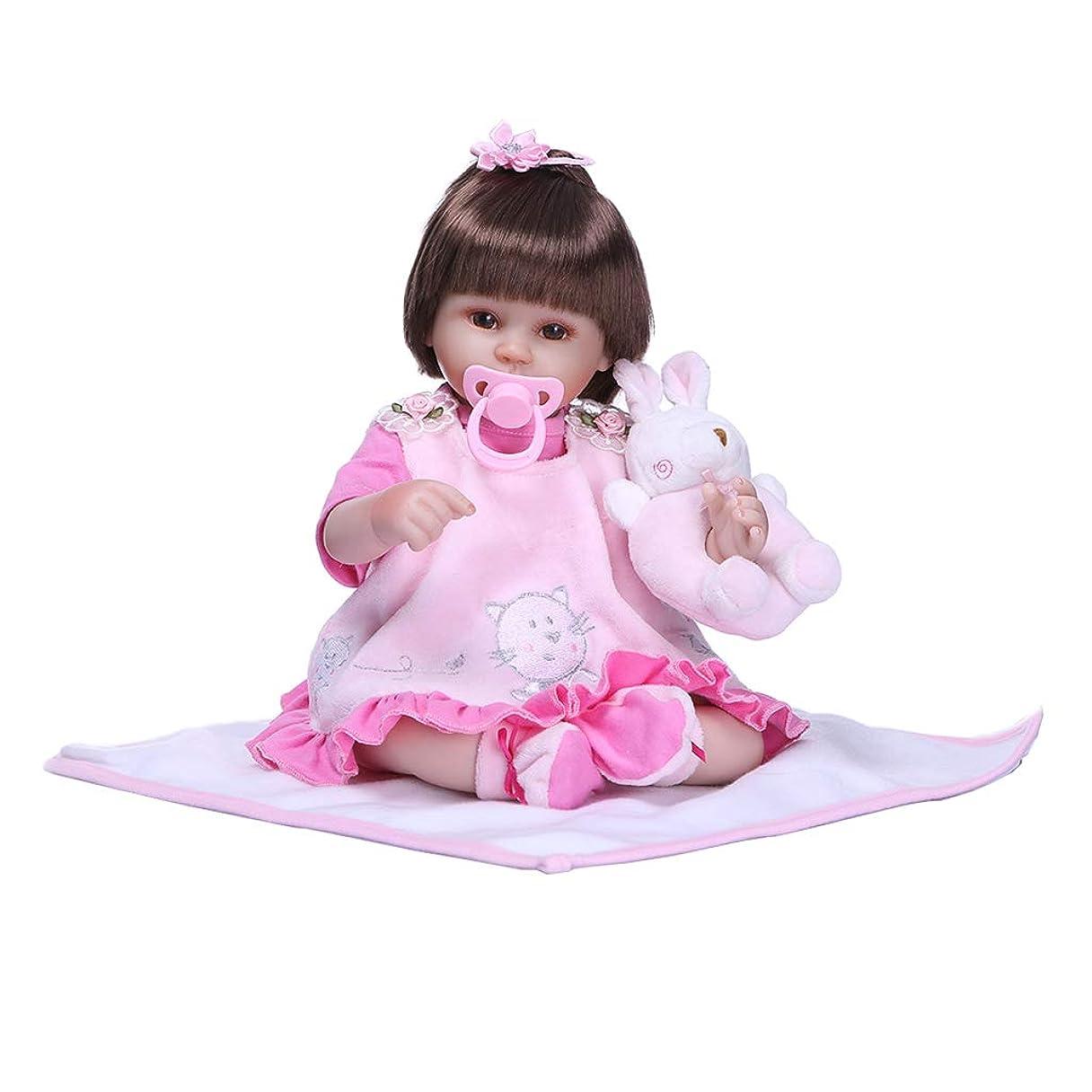 会議寄り添う闇Perfeclan 新生児人形 手足可動式 リボーンドール人形リアル リアル 赤ちゃん人形 工芸品 40cm 出産祝い