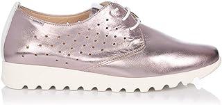 e070aa1d7f3 BAERCHI 37051 Zapato Cordon Piel Metalizada Mujer