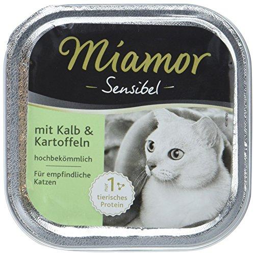 Miamor Sensibel Kalb & Kartoffel 16x100g