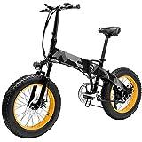 Lanceasy Bicicletas Electricas Plegables, portátil Antideslizante Ajustable Plegable para Ciclismo al Aire Libre, Entrega en 3 a 10 días