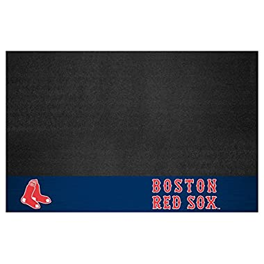 Boston Red Sox 26 x 42 Grill Mat - Boston Red Sox Home Decor