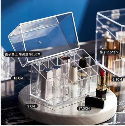 Neue Trapez Kunststoff transparente Make-up Display Rack Lippenstift Stand Rack Kosmetik Organizer Halter Kosmetik Schmuck Box Halter