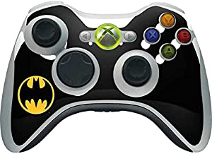 Skinit Decal Gaming Skin for Xbox 360 Wireless Controller - Officially Licensed Warner Bros Batman Logo Design