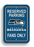 Durable Styrene Construction Great for home office or dorm Officially licensed parking sign is decorated in the team colors, great for decorating home, office or dorm. Officially licensed NFL product. Made from plastic Printed with NFL team logos 12-...