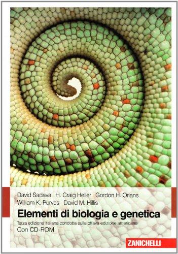 Elementi di biologia e genetica. Con CD-ROM