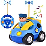 Product Image of the Liberty Imports My First RC Cartoon Car Vehicle 2-Channel Remote Control Toy |...