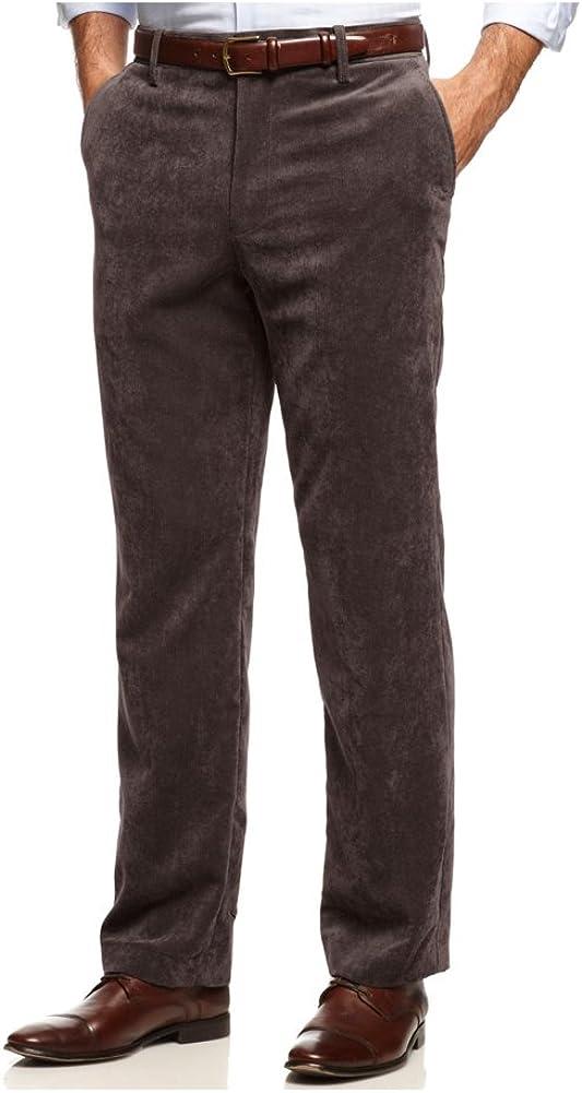 Tasso Elba Mens Classic Casual Corduroy Pants