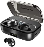 PASONOMI Bluetooth Earbuds Wireless Headphones Bluetooth Headset Wireless Earphones IPX7 Waterproof Bluetooth...
