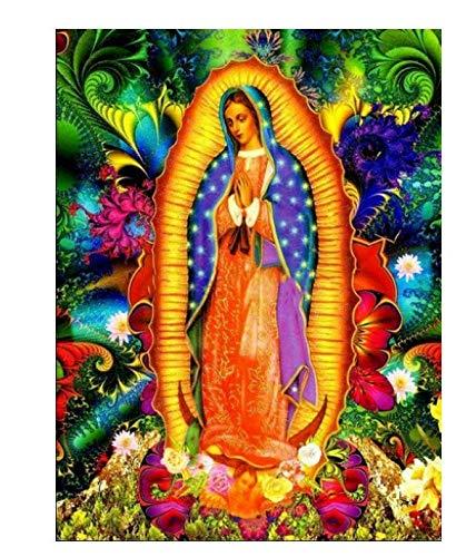 Diy Diamante Pintura Religiosa De La Virgen Regalo Para Punto De Cruz Iconos De Decoración Del Hogar Serie Diamante Bordado Pintura 60X80Cm A