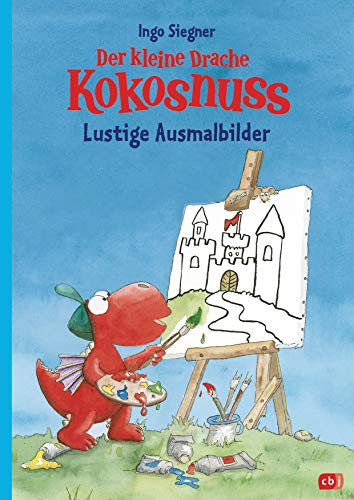 Der kleine Drache Kokosnuss – Lustige Ausmalbilder: Kinderbeschäftigung ab 5 Jahre