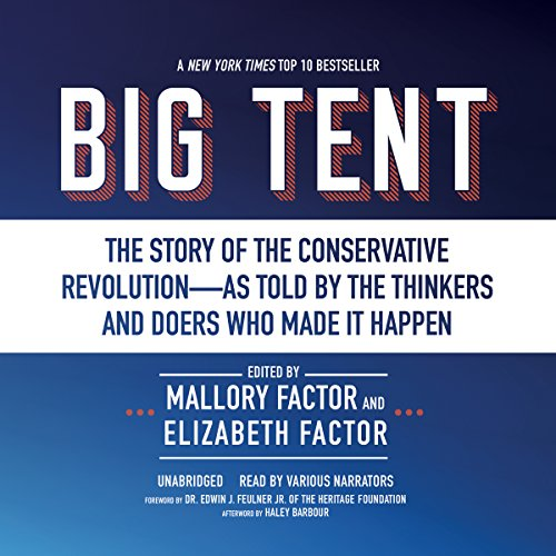 Big Tent audiobook cover art