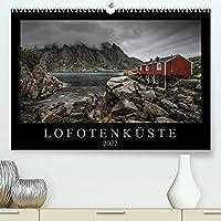 Lofotenkueste (Premium, hochwertiger DIN A2 Wandkalender 2022, Kunstdruck in Hochglanz): Landschaftsfotografien aus Nordnorwegen (Monatskalender, 14 Seiten )