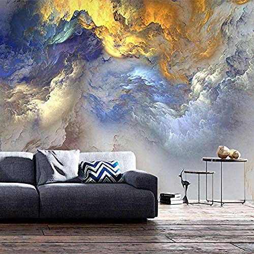 Chinese Style 3D Cloud Wallpaper Mural For Walls Sofa Background 3D Photo Mural Wall Paper 3D Cloud Sticker Wall Decor 200cmx140cm