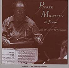 In France 1952-1958 Concerts