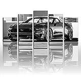 Póster de pintura en lienzo, impresión de Ford 2017 Speedkore Mustang Convertible metálico, Cabrio y deportivo, arte de pared, decoración de carreras.