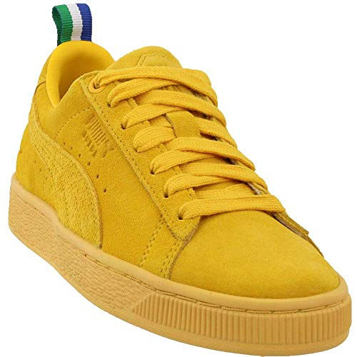 PUMA Suede Big Sean Sneaker, Spectra Yellow-Spectra Yellow, 11 M US