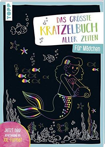 Das größte Kratzelbuch aller Zeiten für Mädchen: Jetzt neu: Kratzelspaß im XXL-Format