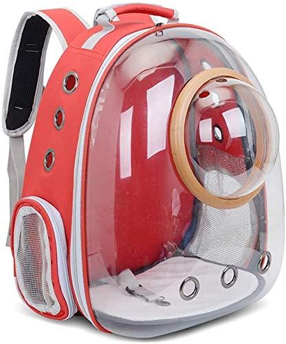 YYhkeby Haustier-Katze-Rucksack Blase, transparente Raumkapsel Hundetragetasche Katzen-Welpen-Astronaut Reise tragen Handtasche Außen Transparent Haustier Katze Tasche tragbaren Pet Supplies Jialele