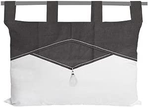 Soleil dOcre 900374 Laponie T/ête de Lit Polyester Ecru 45 x 70 cm