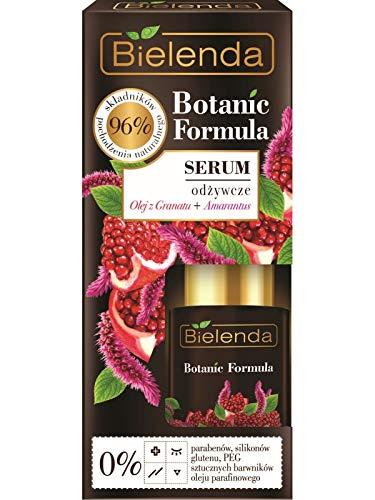 Bielenda Fórmula botánica nutritiva cara suero granada aceite y amaranto 15 ml