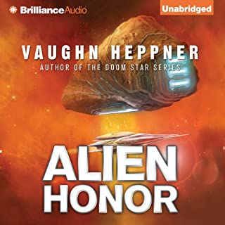 Alien Honor audiobook cover art