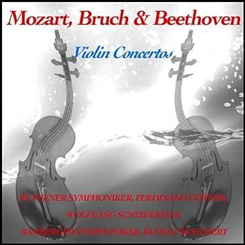 Mozart, Bruch & Beethoven: Violin Concertos