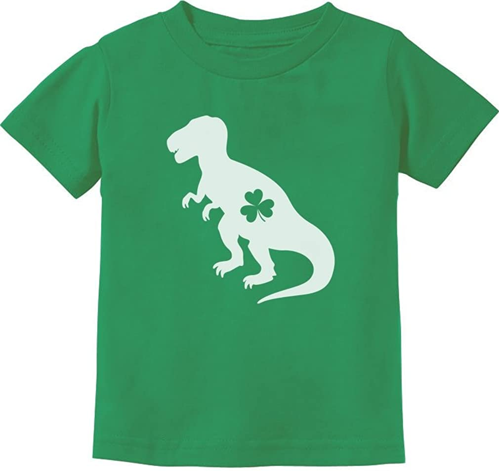 Irish T-Rex Dinosaur Clover St. Patrick's Day Gift Toddler/Infant Kids T-Shirt