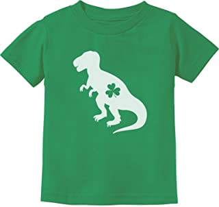 Irish T-Rex Dinosaur Clover St. Patrick's Day Gift Toddler/Infant Kids T-Shirt