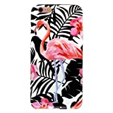 GOLINK iPhone 6 Case for Girls/iPhone 6 Floral Case, Matte Floral Series Slim-Fit Ultra-Thin Anti-Scratch Shock Proof Dust Proof Anti-Finger Print TPU Case for iPhone 6/6S (4.7 inch) - Flamingo