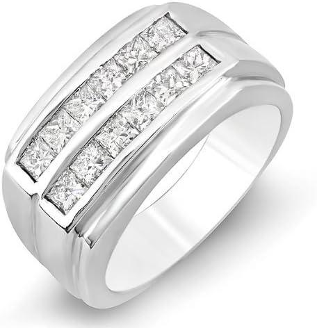 Max 61% OFF Dazzlingrock Collection 1.35 Carat ctw Excellent Me Diamond Princess 14k
