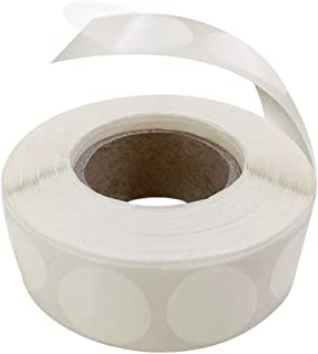 Mailing Seals Clear Wafer Shape Round 1 Inch Circles (1,000) / Envelope Tab Sealer Stickers Better Adhesive Than Tape Mailers by MESS