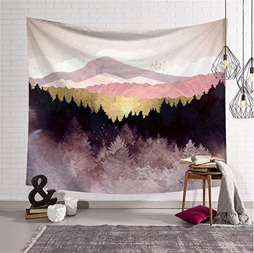 Moda Colgar de la pared del aceite la salida del sol psicodélica tapiz acampar pintura patrón de la puesta del sol bohemio tapiz de yoga decoración estera del sueño Para la decoración de la habitación