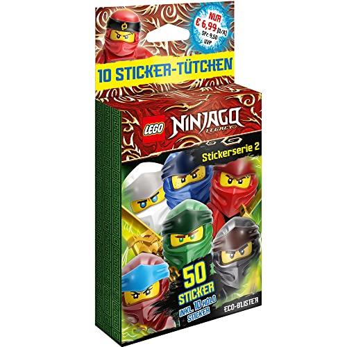 Lego Ninjago - Legacy Serie 2 - Sammelsticker - Blister