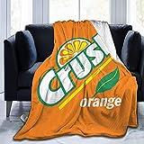DJNGN Orange Crush Suave y cómodo Mantas