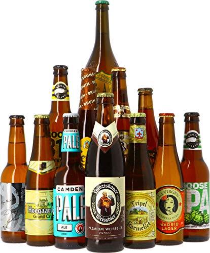 Craft Beer Box - Biertasting - Probierpaket (12 Bier Bestseller-Kollektion)