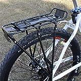 YPASDJH Durable, Aleación Bicicleta Racks MTB Aluminio Portador de Bicicletas Trasero Tapa de Equipaje Soporte de Estante Ciclismo Rack Carrier Panniers Bolsa Bicicleta Piezas Durable, (Color : A)