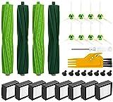 KGC 30 Stück Ersatz Zubehör für iRobot Roomba i7 i7+ i7 Plus i3 i3+ i4 E5 E6 E7 iRobot Roomba Ersatzteile Paket ist 8 Filter 8 Schraube 8 Seitenbürste 4 Walzenbürste1 Schraubendreher 1 Reinigungsbürst